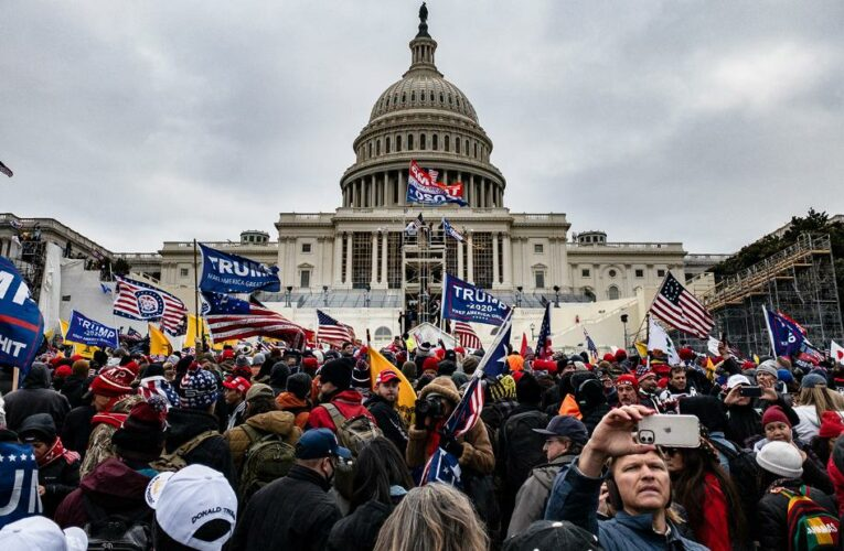 How a pro-Trump mob besieged the Capitol
