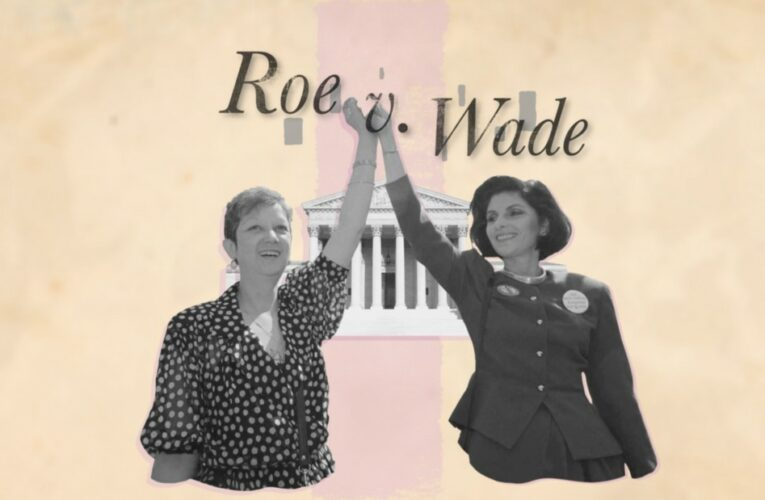 A timeline leading to Roe v. Wade