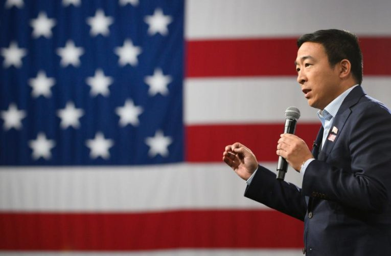 Andrew Yang sues over New York's canceled presidential primary