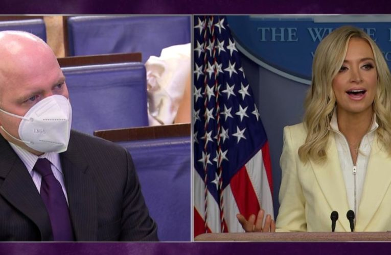 Briefing gets tense after press secretary's remark