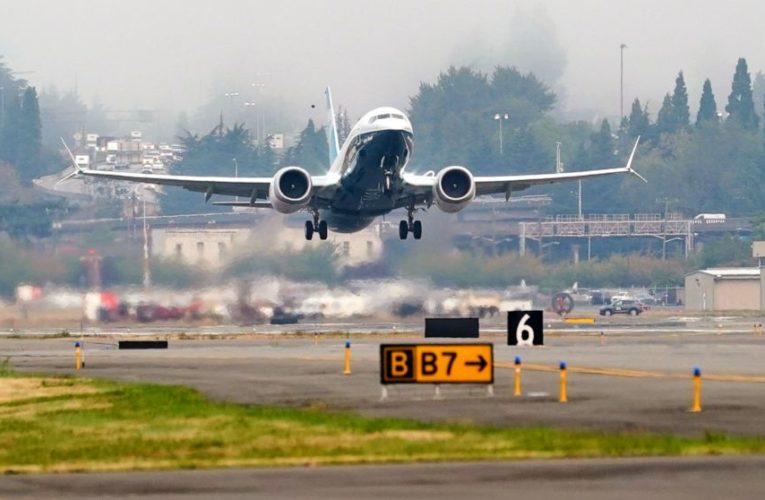 FAA chief tests changes to Boeing's grounded 737 Max