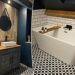 DIY-wiz transforms an outdated bathroom into an industrial chic water room for £2,000
