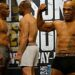 Mike Tyson hints at fireworks in the ring as he and Roy Jones Jr. weigh-in for exhibition bout