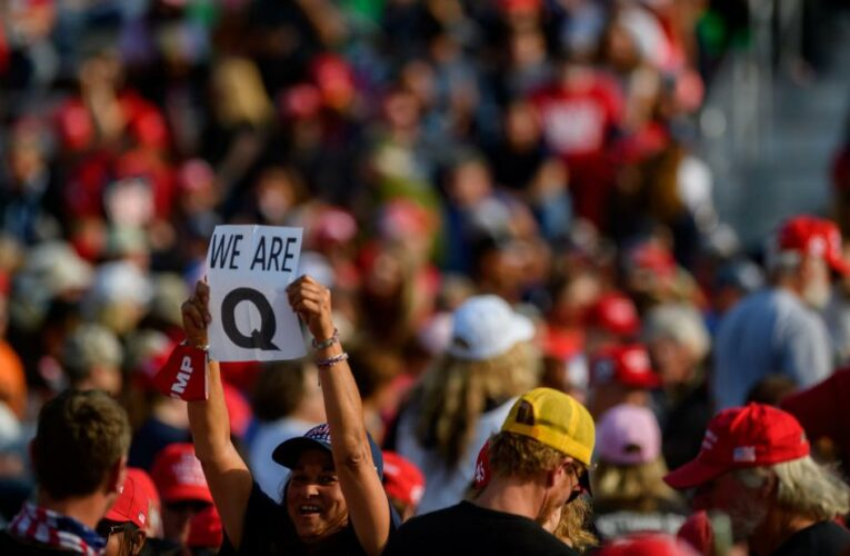 As President Trump leaves office, Republicans are left to grapple with the QAnon wing of the party that will linger long after he's gone