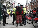 Eviction teams try to FORCE out the Euston Five
