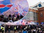 Rangers fans break lockdown rules as 'THOUSANDS' gather outside Ibrox