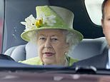 Queen, 94, 'got her second Covid jab' before facing the public without a mask
