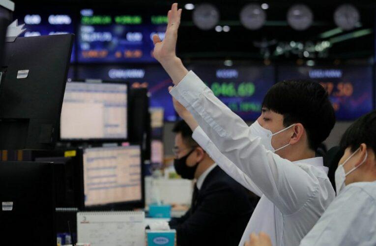 World shares track Wall St decline as bond yields rebound