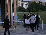 Police arrest seven men after teenager, 18, stabbed to death in Montrose Park in Edgware