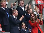 England's win over Germany helps thaw icy relations between William and Harry