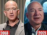 Jeff Bezos's dramatically plumped-up lips and super-smooth face spark cosmetic surgery rumors